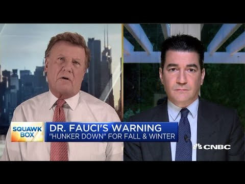 Former FDA chief defends some of the early lockdown measures to contain Covid-19