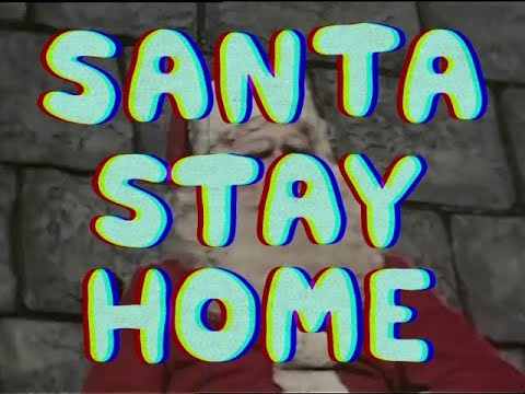 U.S. Girls feat. Rich Morel - Santa Stay Home (Explicit Version) (Official Video)