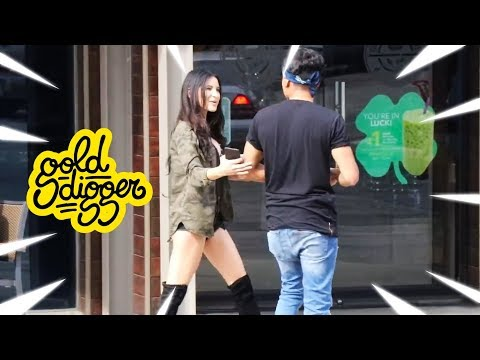 """Ultimate """"HUNGRY GIRLS"""" Gold Digger Pranks Compilation"""