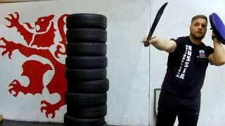 Урок 10: Работа со щитом. Исторический Средневековый бой - Основы