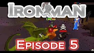 [OSRS] Ironman Bank Loot PK / Incredible Clue Luck/ Black Mask Hunt - Gunschilli Ironman Episode 5