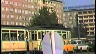 Karl Marx stadt Strassenbahn & Verkehrs alltag  26 September 1987