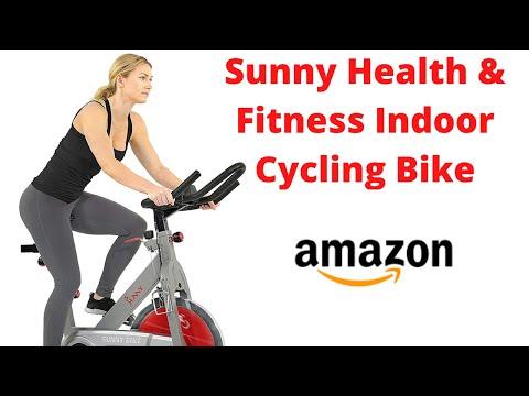 Amazon Sunny Health & Fitness Indoor Cycling Bike