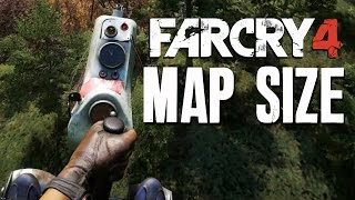 Far Cry 4 - MASSIVE MAP SIZE & HELICOPTER (gyrocopter) Gameplay PS4