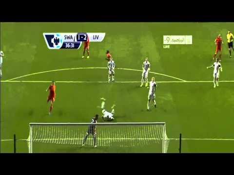 ไฮไลท์ฟุตบอล พรีเมียร์ลีก สวอนซี ซิตี้ 2-2 ลิเวอร์พูล  16 ก.ย. 2013