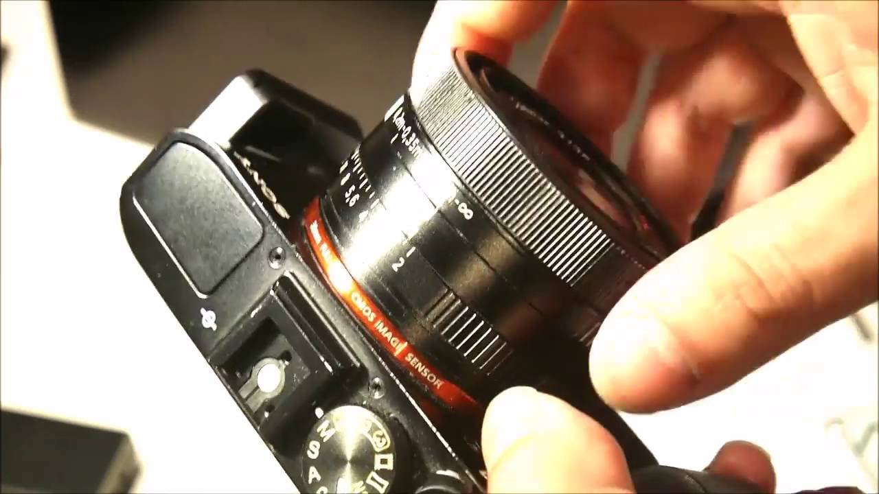 SONY RX1 COMPACT FULL FRAME CAMERA - YouTube