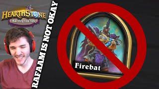 Rafaam is NOT Okay | Firebat Battlegrounds