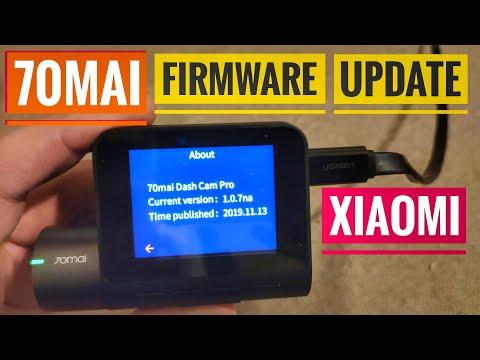 [How To ] XIAOMI 70MAI Dash Cam PRO FIRMWARE UPDATE 1.0.7na [4K UltraHD]