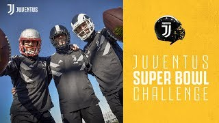 SUPER BOWL #CHALLENGE | Juventus players fun battle for the championship ⚽ x 🏈