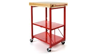 Hsn | Item #191291 | Origami Folding Kitchen Island Cart
