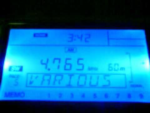 Radio Tajikistan - 4765 kHz