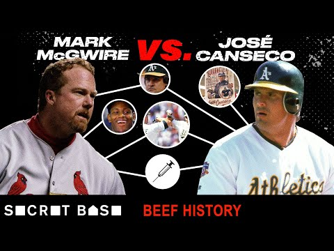 Mark McGwire and Jose Canseco started out as bash brothers, and ended up with bash beef