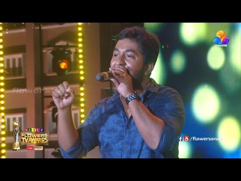 Mix - VINEETH SREENIVASAN SONG ALUVAPUZHA | Flowers TV Awards