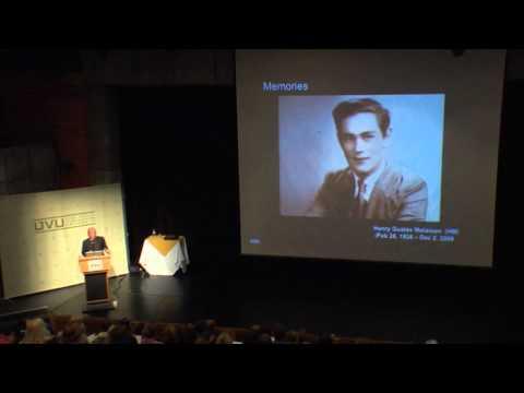 UVU: Arts In Education Keynote Kenneth Kosik 2011