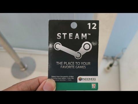 Tutorial Isi Steam Wallet Tanpa Kartu kredit