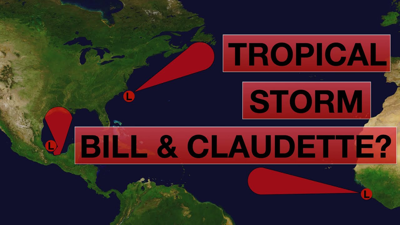 Will Invest 93L become Tropical Storm Bill? | Invest 92L Claudette?