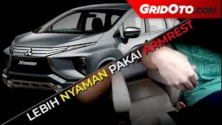 Hasil Custom Armrest di Mitsubishi Xpander