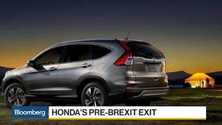 Feb.19 -- Honda Motor Co. dealt a blow to the British auto industry...