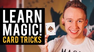 Learn Card Tricks! Amazing Card Magic Trick Lesson!