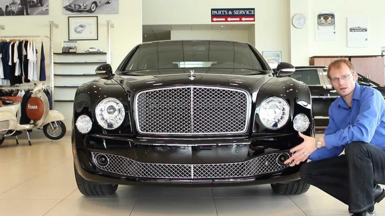 2013 Bentley Mulsanne   Morrie\'s Luxury Auto - YouTube