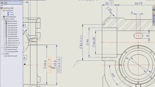 SolidWorks Tutorial - SolidWorks 2010 Drawing