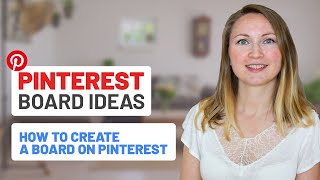 Video Tutorial to Learn How to create a blog board on pinterest | Step by Step Guide for  How to create a blog board on pinterest