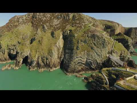 Lighthouse - South Stack  - Holyhead  - Wales - DJI Phantom - Escape to the Country