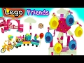 Lego Friends Party Train Ride with Season 7 Shopkins + Ride in Ferris Wheel Eggs