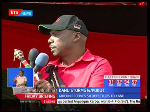 Gideon Moi insists that he will be on the ballot in 2022