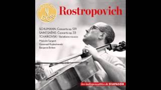 Mstislav Rostropovich, Benjamin Britten - Fünf Stücke im Volkston, Op. 102: V. Stark und markiert