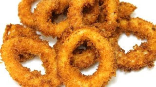 How To Make Crispy Fried Calamari - In the Kitchen With Jonny