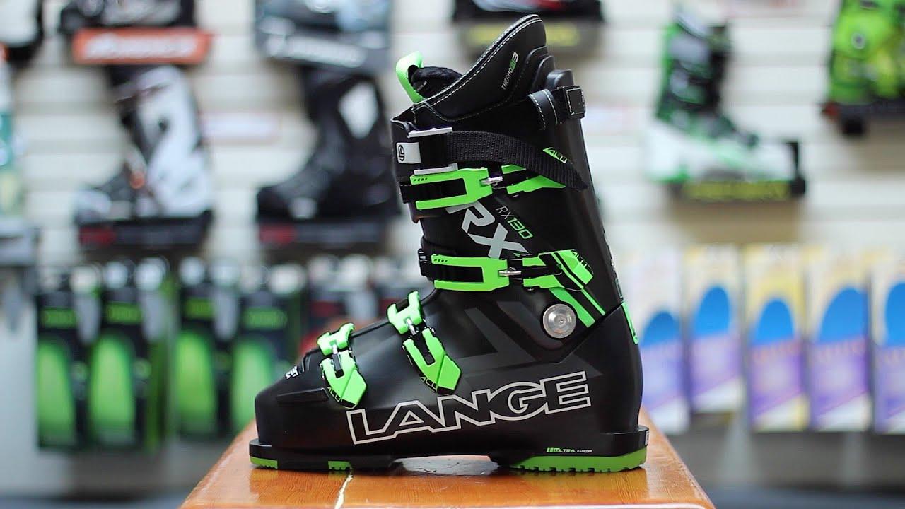 Lange RX 130 Ski Boot REVIEW - YouTube 4e665af747f