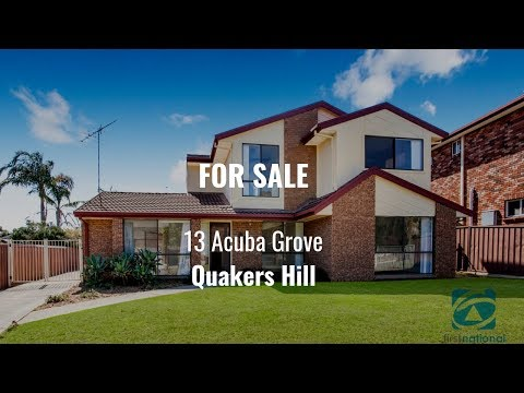 13 Acuba Grove, Quakers Hill - with Ruma Mundi & Brad Norrie