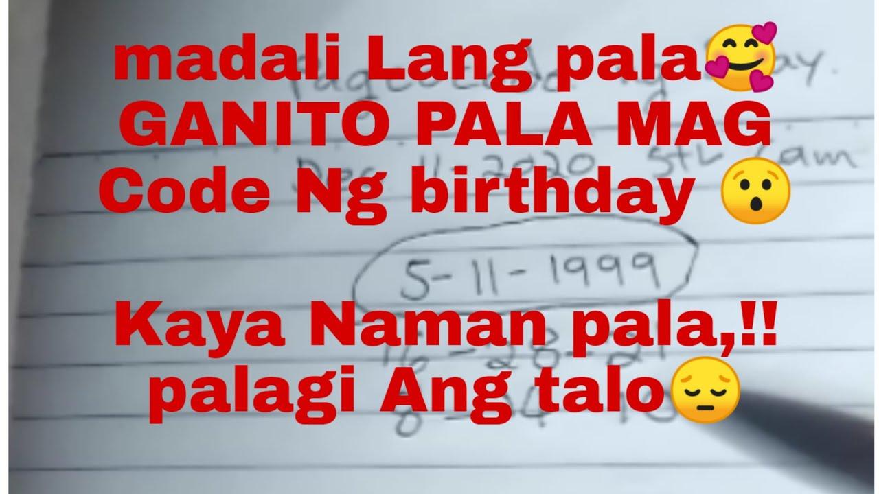 Download PAANO MAG CODE NG BIRTHDAY MO?!...GANITO LANG PALA KADALI🥰 #stlcamsur