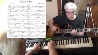 Sabor A Mi - Bolero guitar & piano cover ( Alvaro Carrillo ) Yvan Jacques