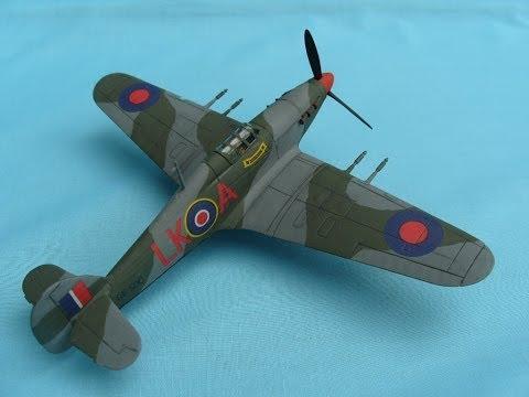 MATCHBOX 1/72 Hawker Hurricane Mk.IIc - Aaron Newlands Matchbox Community Build