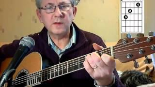 Apprendre la guitare - Un jour Viendra Johnny Hallyday. En Sol