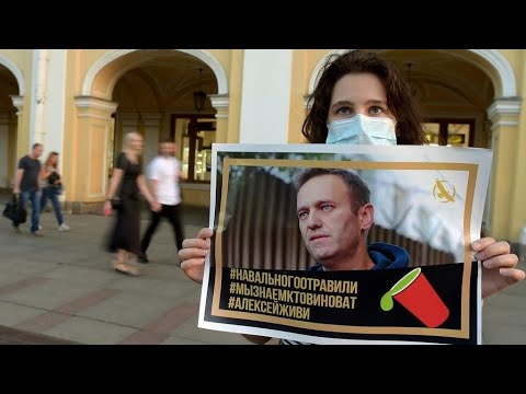 Russia arrested opposition leader Alexei Navalny. Widespread ...
