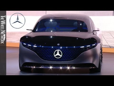 Mercedes-Benz Vision EQS Reveal At The IAA 2019 – Full Press Conference