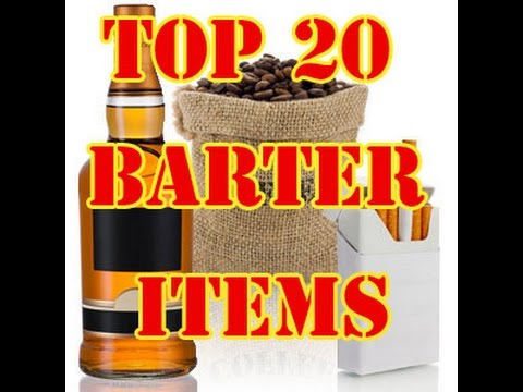 Top 20 Barter Items For SHTF