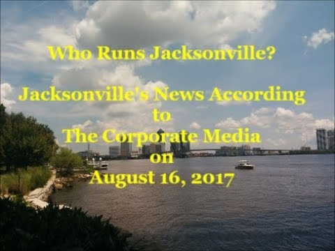 Jacksonville's News According to The TV Stations on August 16 ,2017