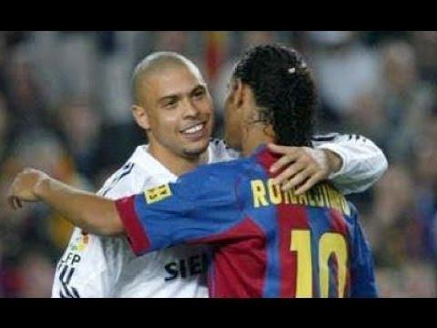 Download Real Madrid vs FC Barcelona 4-2 - La Liga 2004/2005 - Goals & Full Highlights