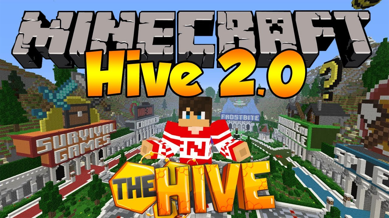 how to play the hive on minecraft pe