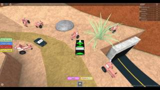 I LOST CONNECTION glitching in cars 3 obby roblox