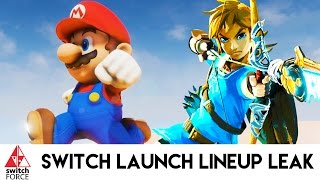 Nintendo Switch Launch Lineup Leak - Analysis and Discussion