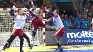 Denmark 25:27 Hungary Highlights   France 2017 Men