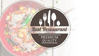 How to Design a Restaurant Logo In Photoshop Tutorial