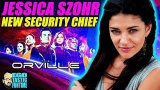 The Orville Season 2 - Welcoming Jessica Szohr | TALKING THE ORVILLE