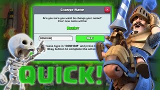 You NEED To Do This In Clash Royale Before The Update! HOW TO COLOR TEXT IN CLASH ROYALE NEW!