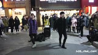 180220 디오비 DOB 효진&태영 홍대공연 / GOT7(갓세븐) - 하지하지마 + hard carry